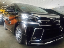 2017 TOYOTA VELLFIRE ZG 2.5 FULL LEATHER , 2 ALPHINE  MODELISTA KIT , POWER BOOT , 2 SUN ROOF , FREE WARRANTY