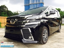 2018 TOYOTA VELLFIRE ZG 2.5 POWER BOOT , FREE WARRANTY, E/HL/M SEAT