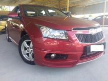 2013 CHEVROLET CRUZE 1.8 (A) * EXCELLENT UNIT OR WE REFUND YOUR TRAVEL PETROL