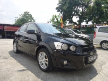2013 CHEVROLET SONIC 2013 Chevrolet Sonic 1.4(A) 1 Owner Excellent Condition