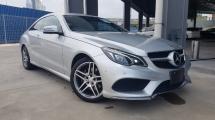 2015 MERCEDES-BENZ E-CLASS 2015 Mercedes E250 Coupe AMG 4 Camera Full Leather Radar Blind Spot LKA Unregister for sale
