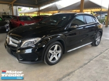 2017 MERCEDES-BENZ GLA GLA180 AMG Turbo Dual-Clutch Transmission Distronic-PLUS Pre-Crash Lane Departure Alert Memory Bucket Seat Keyless-Go Push Start Button Paddle Sport Shift Automatic Power Boot Intelligent Bi-Xenon Lights Bluetooth Connectivity Unreg