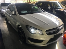 2014 MERCEDES-BENZ CLA CLA45 AMG 2.0 4MATIC COUPE JAPAN SPEC V P-ROOF