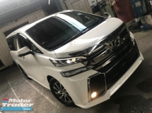 2017 TOYOTA VELLFIRE 2.5 Z SUNROOF ALPINE FRONT AND BACK SURROUNDING CAMERA POWER BOOTH 2017 JPN UNREG