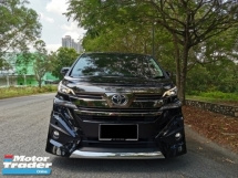 2018 TOYOTA VELLFIRE 2.5 (A) ZG HIGH SPEC - LOCAL TOYOTA WARRANTY TILL 2023