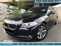 2015 BMW 5 SERIES 520I 2.0(A) FACELIFT SPORT TWIN POWER TURBO HIGH SPEC LIKE NEW CAR SHOWROOM