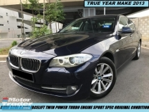 2014 BMW 5 SERIES 520I 2.0(A) FACELIFT SPORT TWIN POWER TURBO HIGH SPEC LIKE NEW CAR SHOWROOM
