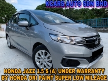 2017 HONDA JAZZ 1.5 S i-VTEC UNDER WARRANTY SUPER LOW MILEAGE ORI PAINT