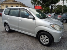 2004 TOYOTA AVANZA 1.3E (A) VVT-i One Owner