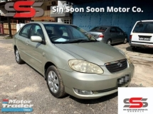 2006 TOYOTA COROLLA ALTIS 1.6 E FULL Spec(AUTO)2006 Only 1 LADY Owner, 98K Milege, TIPTOP,ACCIDENT-Free, DIRECT-Own, wit AIRBEG+TOYOTA SERVICE BOOKLET