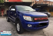 2015 FORD RANGER 2.2 XLT 4WD (A) 1 YEAR WARRANTY, LOW MILEAGE