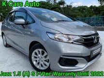 2018 HONDA JAZZ 1.5 S i-VTEC ORI 19K KM MILEAGE FULL SERVICE AND WARRANTY BY HONDA UNTIL 2022