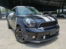 2014 MINI PACEMAN COOPER S 2DOOR BLACK OFFER UNREG