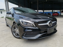 2017 MERCEDES-BENZ CLA 180 AMG BLACK NEW FACE OFFER UNREG