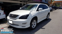 2007 TOYOTA HARRIER 240G VVTI (A) REG 2012, CAREFUL OWNER, REVERSE CAMERA, DVD MONITOR, BODY KIT, 18