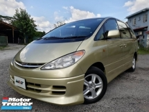 2001 TOYOTA ESTIMA REG 06 3.0 (A) MPV AERAS SPEC 7 SEATER GOOD CONDITION PROMOTION PRICE