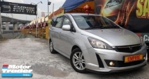 2014 PROTON EXORA  BOLD PREMIUM 1.6 ( A ) CVT TURBO !! NEW FACELIFT !! PREMIUM FULL HIGH SPECS THAT COMES WITH ROOF MONITOR FULL LEATHER SEATS !! 7 SEATERS MPV !! ( X 2374 X ) 1 CAREFUL OWNER !!