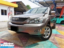 2007 TOYOTA HARRIER  3.5 350G HiSPEC LEATHER ELECT/SEATS