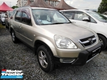 2005 HONDA CR-V 2.0 Ori Paint One Owner No Need Repair CASH Sahaja
