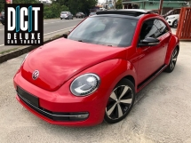 2014 VOLKSWAGEN BEETLE 2.0 Limited Sport Sunroof Paddle Shift Low Mileage Lady Owner