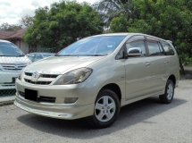 2005 TOYOTA INNOVA 2.0 G VVT-i TipTOP Condition LikeNEW
