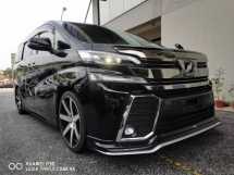 2015 TOYOTA ALPHARD Toyota alphard 2.5 G EDITION POWER BOOT
