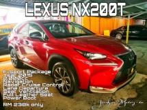2015 LEXUS NX NX200T F-Sport Pakage