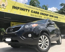 2013 KIA SORENTO 2.4 FULL SPEC SUNROOF, LEATHER PUSH START