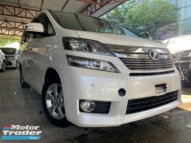 2014 TOYOTA VELLFIRE 2.4 2 power door 8 seater unreg 1 YEAR WARRANTY