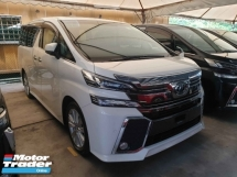 2016 TOYOTA VELLFIRE 2.5ZA Edition 7 Seater Power Boot Power Door Pre Crash Local AP Unreg