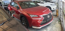 2015 LEXUS NX 200T F SPORT VER SST INCLUSIVE LOCAL AP ACTUAL YEAR MAKE NO HIDDEN CHARGES