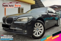 2010 BMW 7 SERIES 730LI 3.0 LWB VC/DOOR S/ROOF PWBOOT 740Li 2011