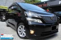 2009 TOYOTA VELLFIRE 2.4X SIDE LIFT UP SEAT