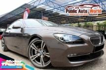 2011 BMW 640i 3.0 T GRAN COUPE M SPORT WARRANTY
