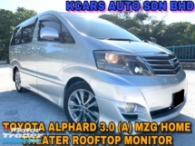 2005 TOYOTA ALPHARD 3.0 V6 MZG 2 P/DOOR HOME THEATER V6 ORI PAINT