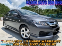 2015 HONDA CITY 1.5S UNDER WARRANTY FULL SVC RCD