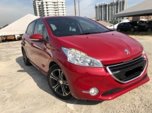 2015 PEUGEOT 208 1.6 hatchback ,Low Mileage,One Owner,Like New Car ,100%AccidentFree