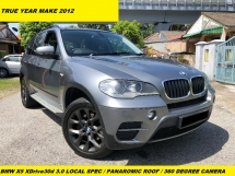 2014 BMW X5 XDRIVE 30D LOCAL SPEC PANAROMIC ROOF 360 DEGREE CAMERA LEATHER SEAT 7 SEATER