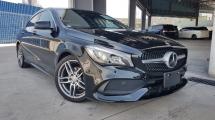 2017 MERCEDES-BENZ CLA 2017 Mercedes CLA180 AMG Facelift Japan Spec Unregister for sale