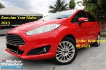 2013 FORD FIESTA 1.5 (A) Titanium (Ori Year Make 2013)(Full Service Record Ford Msia)(52k Km Only)