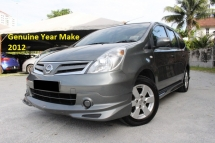 2012 NISSAN GRAND LIVINA 1.6 (A) Impul Edition New Facelift (Ori Year Make 2012)(Full Service Records)(1 Owner)