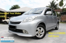2008 PERODUA MYVI 1.3 SXi (M) Ori Year Make 2008 (1 Owner)(No Repairs Needed)