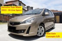 2013 PROTON EXORA 1.6 (A) CFE Turbo Premium Hi Line 6 Speed (Ori Year Make 2013)(1 Owner)