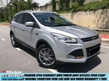 2016 FORD KUGA 1.6 SUV 1-MALAY OWNER UNDER WARRANTY TIP TOP CONDITION ORIGINAL PAINT