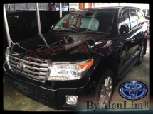 2013 TOYOTA LAND CRUISER ZX 4.6P (UNREG) INT BLACK SIDE STEP SUNROOF
