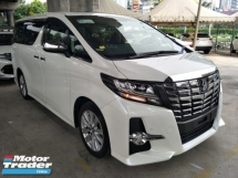 2015 TOYOTA ALPHARD 2.5 SA ORIGINAL 360 SURROUND CAMERA JBL THEATER SURROUND SOUND SYSTEM SUNROOF PRE CRASH STOP SYSTEM