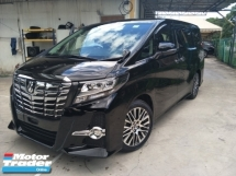 2015 TOYOTA ALPHARD 2.5SC JBL THEATER SURROUND SOUND SYSTEM 360 SURROUND CAMERA SUNROOF POWER BOOT FREE WARRANTY