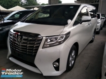 2015 TOYOTA ALPHARD 2.5 8 SEATER POWER BOOT 360 SURROUND CAMERA FREE WARRANTY