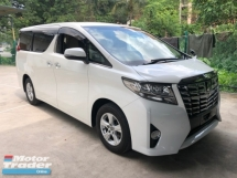 2015 TOYOTA ALPHARD 2.5 2AR-FE Dual VVT-i 7 SCVT-i 4 Surround Camera Automatic Power Boot 2 Power Door Intelligent Bi LED Smart Entry Push Start 3 Zone Climate Control  9 Air Bag Unreg