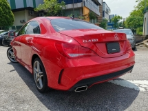 2014 MERCEDES-BENZ CLA 180 AMG RED FULL LEATHER OFFER UNREG